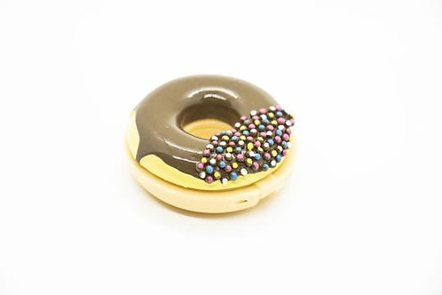 Chocolate with Sprinkles Donut Lip Gloss