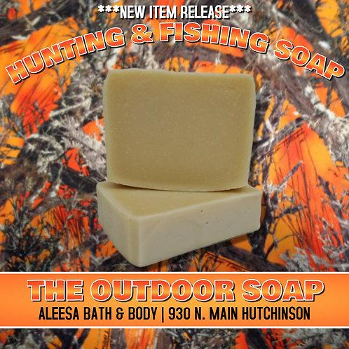 Hunting and FIshing Handmade Soap