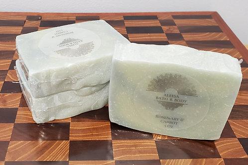 Rosemary & Carrot Handmade Soap