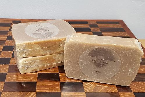 Handmade Vanilla Bar Soap