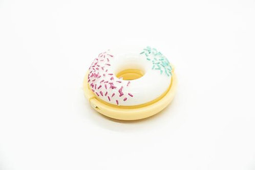 Pink and Green Sprinkles Donut Lip Gloss
