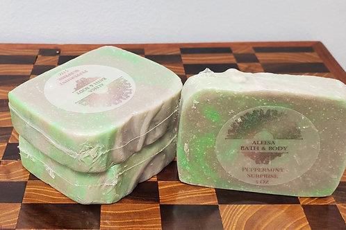 Peppermint Surprise Handmade Soap
