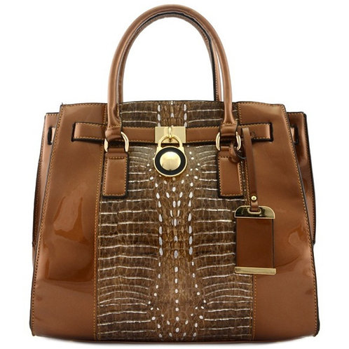 Brown Large Handbag