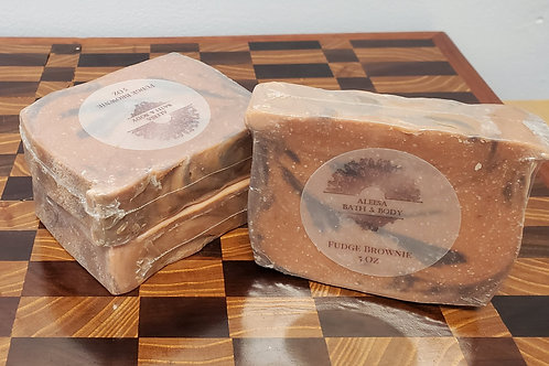 Fudge Brownie Handmade Soap