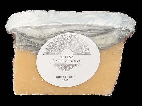 Irish Tweed Handmade Soap