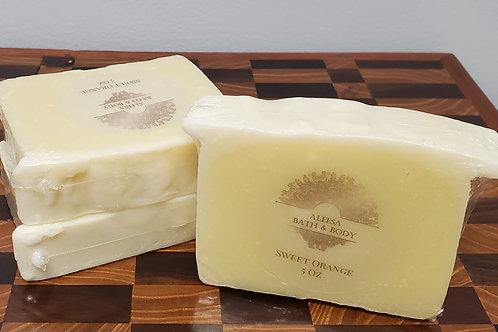 Handmade Sweet Orange Bar Soap