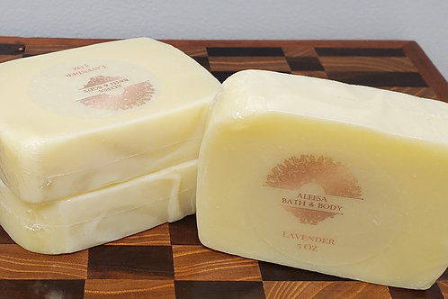 Lavender WholeSale Soap - 8 Bars