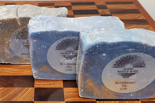 Blueberry Pie Handmade Soap