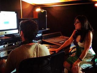 Enregistrement premier album Maela
