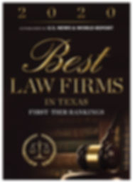 2020 Best Law Firm Distinction