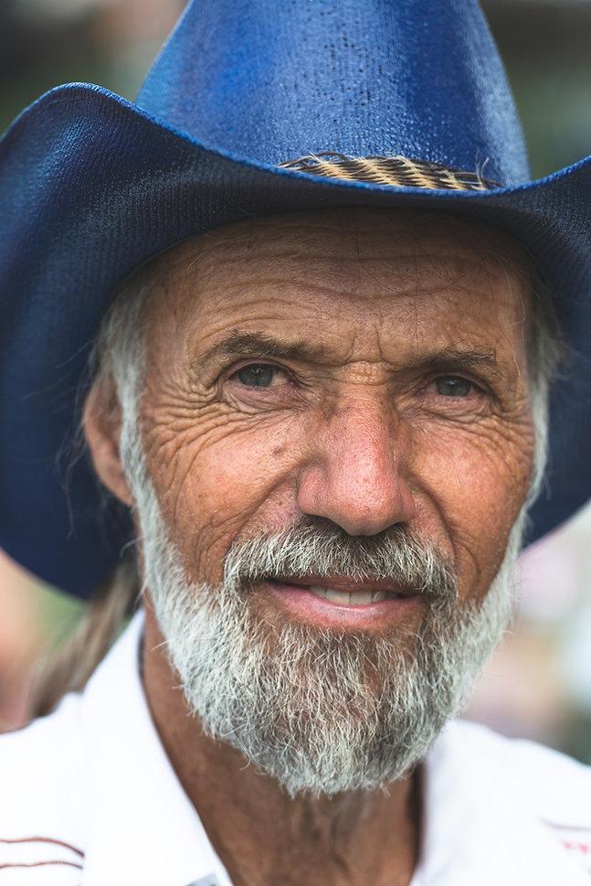 Old Cowboy portrait by Leo York Photos