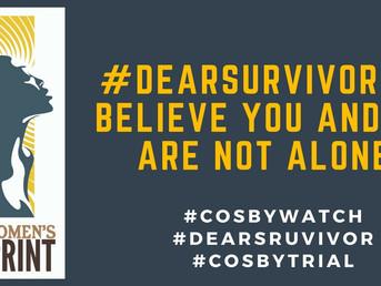 Through #DearSurvivor Black Women Demand Justice for Survivors #CosbyWatch