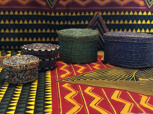 Beaded Baskets (S, M, L)