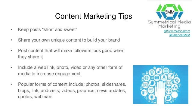 Content Marketing Tips Symmetrical Media Marketing B2B