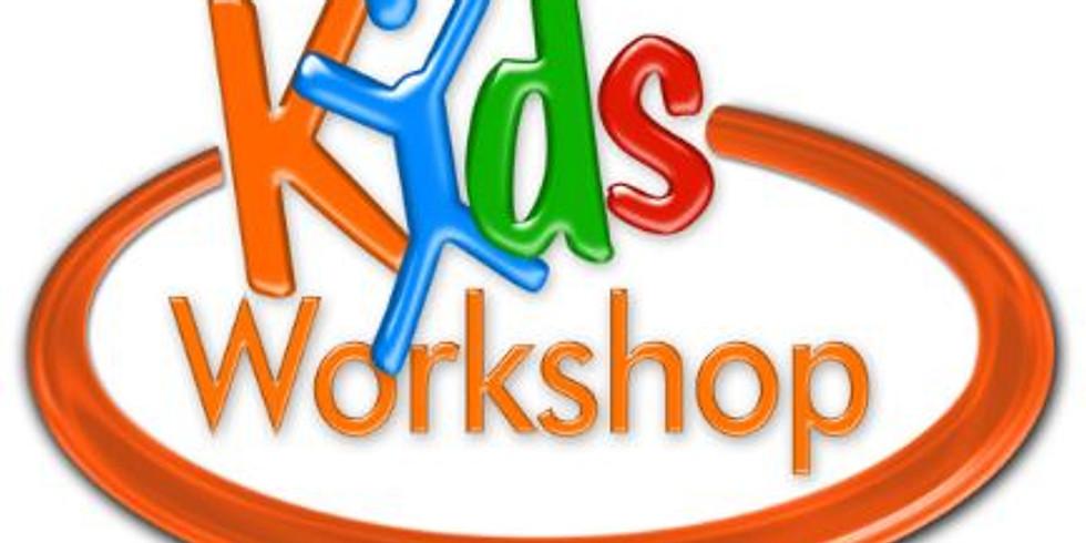 Sunday, January 26th Kids Valentine Workshop