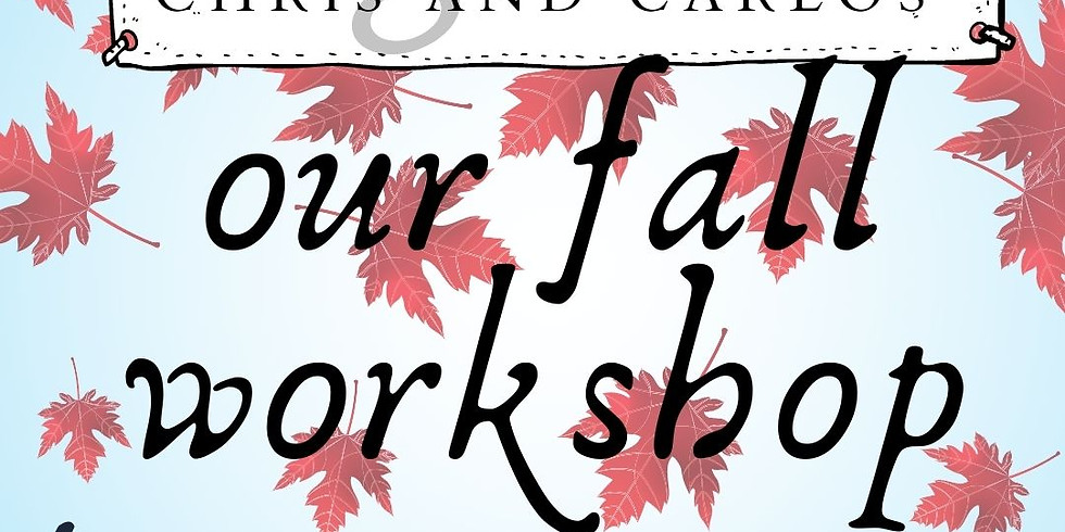 our fall workshop @home