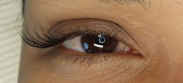 Wing set of eyelash extensios