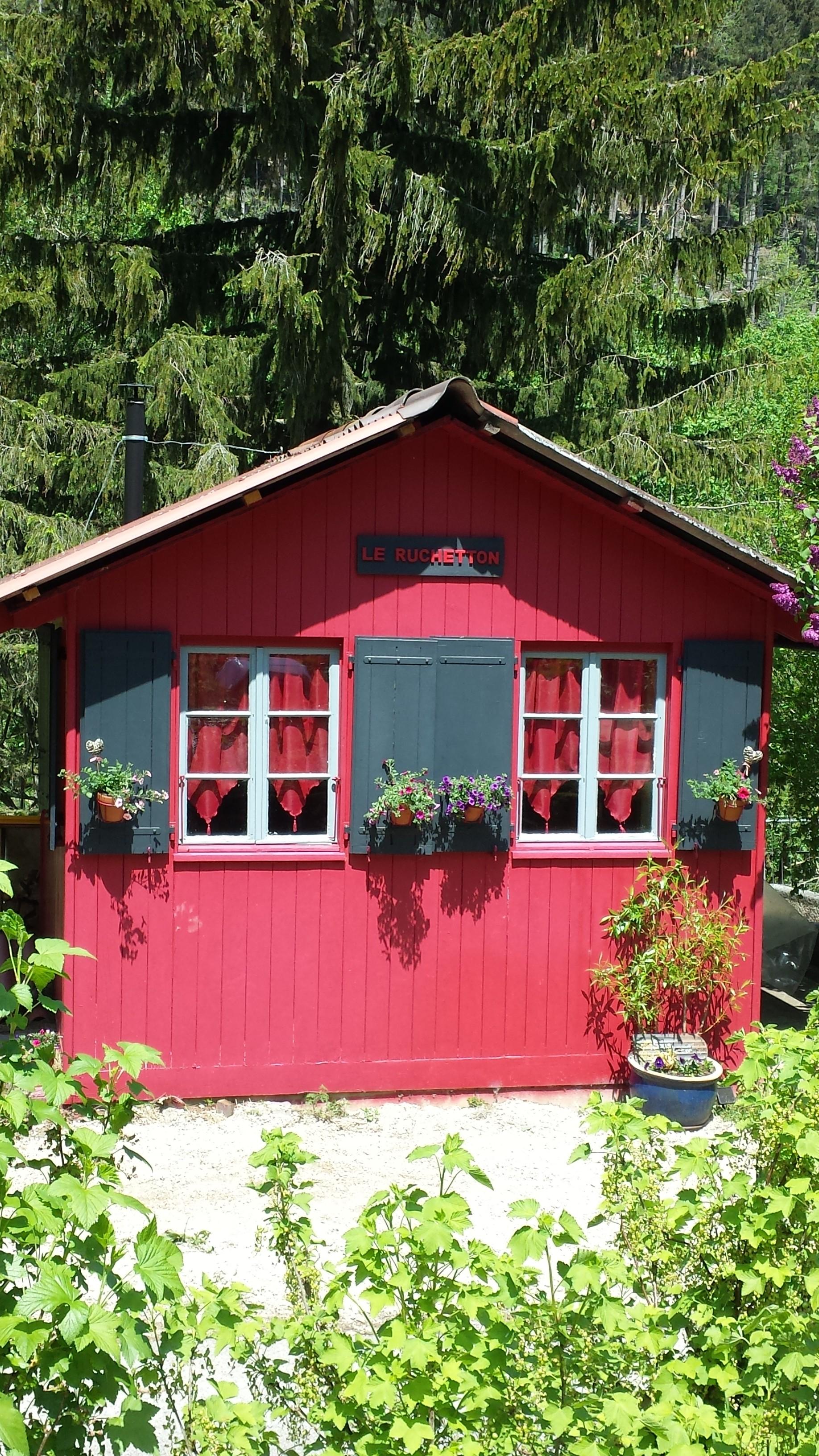Notre cabane en plein été