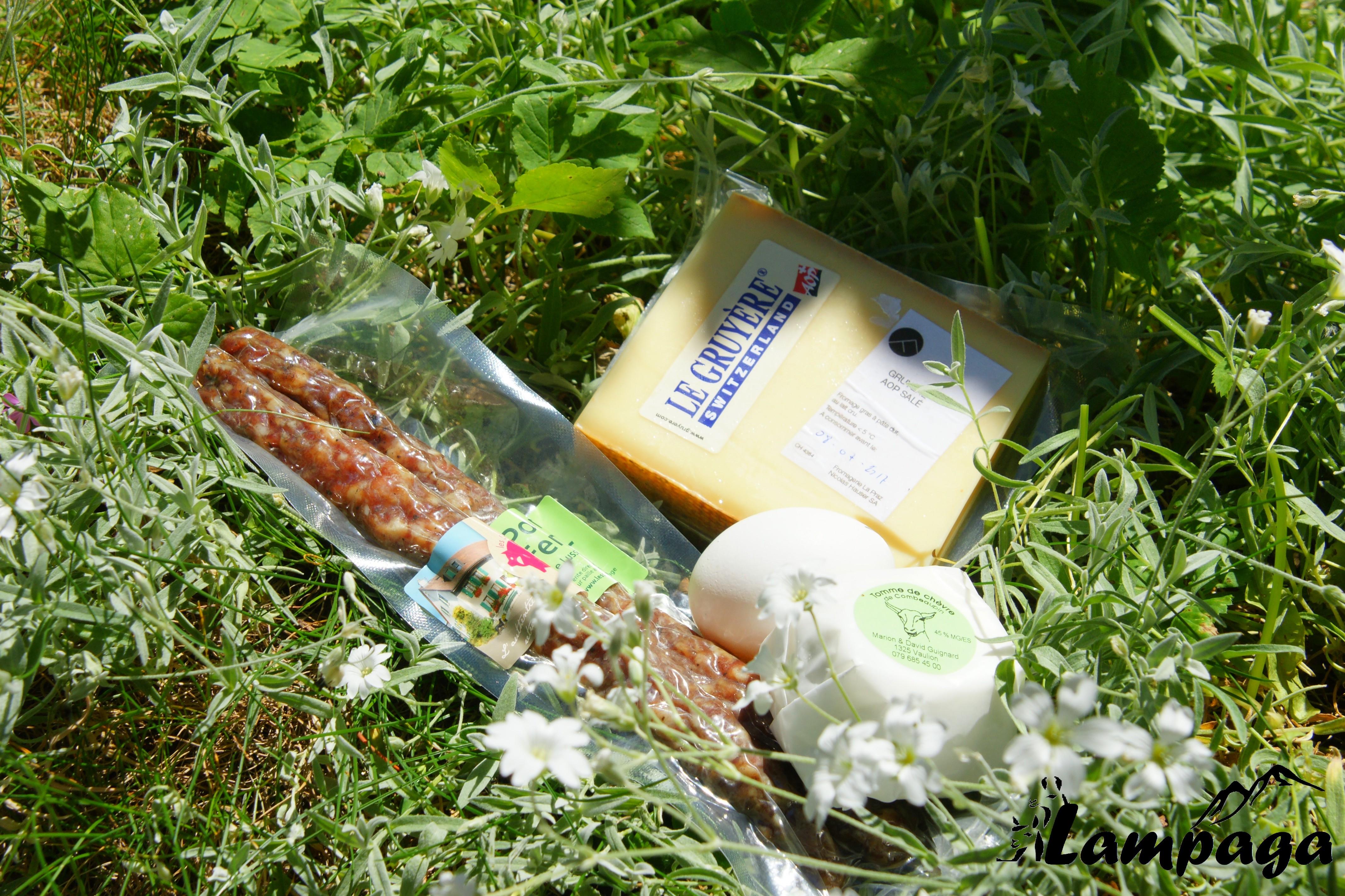 Les produits de notre vallon..