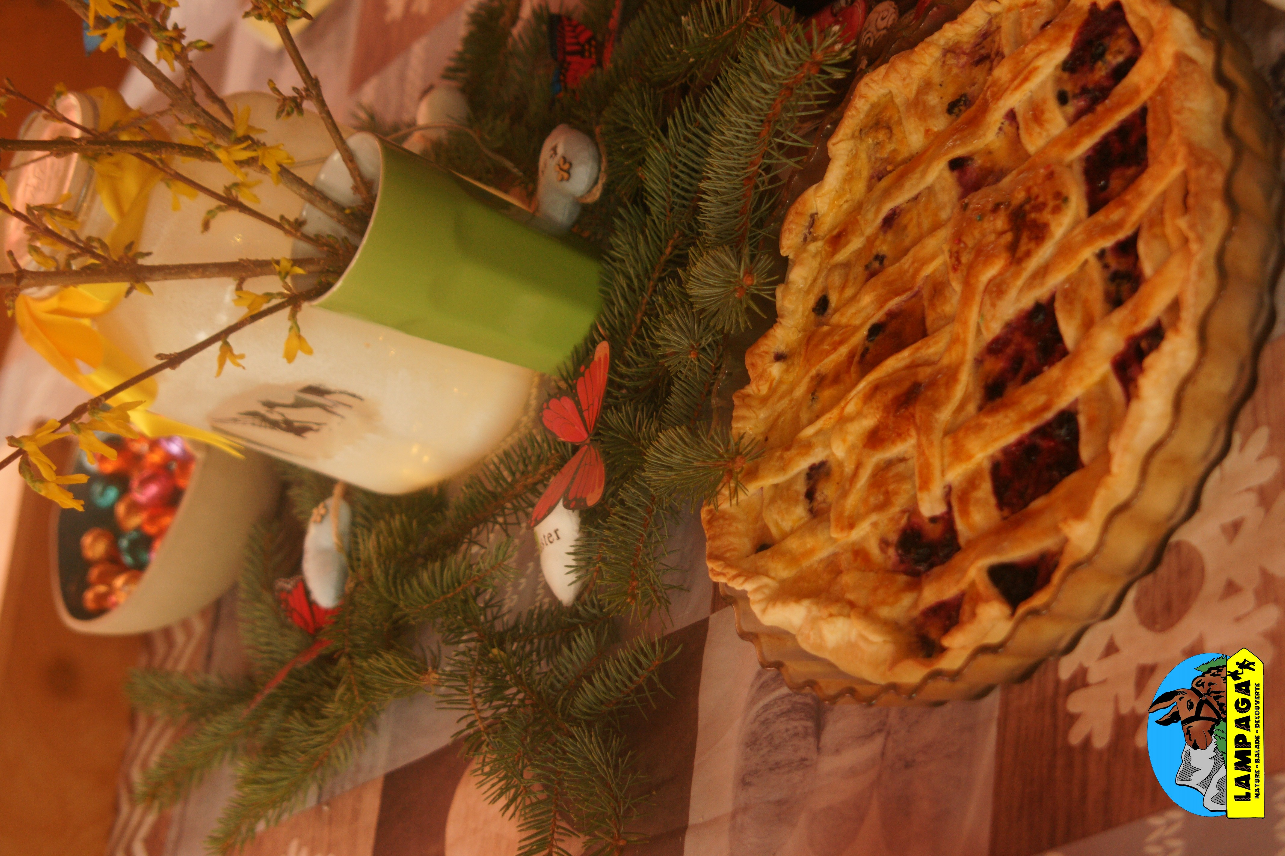 tarte de saison maison