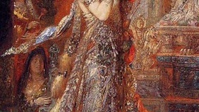 גוסטב מורו, שלומית, 1876