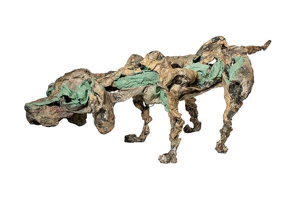 RvB Arts_Maiti_Bruno the dog_ferro, cart