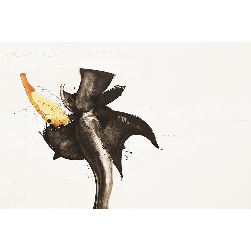 2015 Bato, Leviatano, cm 100x150, tecnic