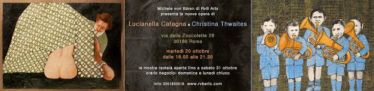 Lucianella Cafagna quotazioni, cafagna prezzi, cafagna for sale, rvb arts, christina thwaites artist, christina thwaites gallery, christina thwaites prices