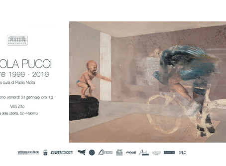 NICOLA PUCCI   mostra museale a Palermo  retrospective museum exhibition in Palermo
