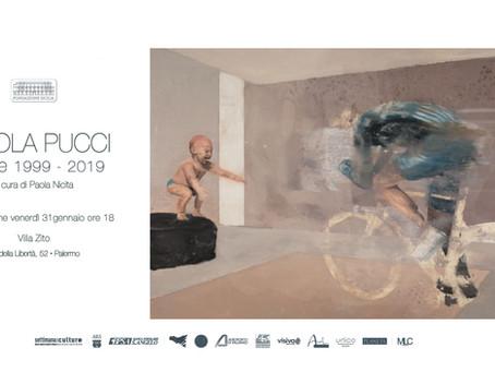 NICOLA PUCCI | mostra museale a Palermo |retrospective museum exhibition in Palermo