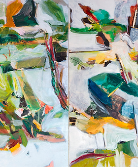 In Foce, 2020, mixed media on canvas, 150x200cm 2.png