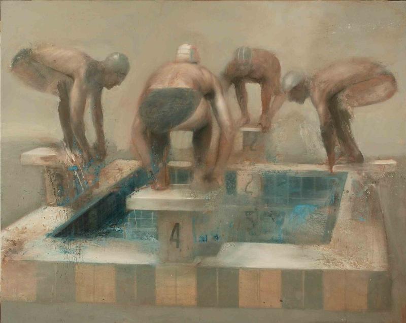 nicola-pucci-partenza-nuoto-120x150cm