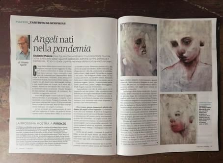 MACCA   Articolo su PANORAMA a cura di Vittorio Sgarbi