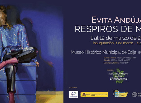 EVITA ANDÚJAR   Mostra personale museale in Spagna   Solo museum exhibition