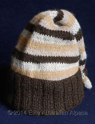 BS29 - Kids Striped Pixie Hat - Multi Colour