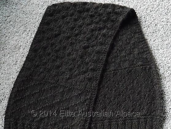 GM07 - Guy's Fashion Scarf - Dark Brown
