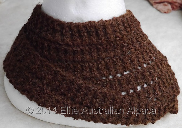 CL02 - Cowl or Head Band - Med Brown