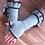 Thumbnail: GL02 - Audrey Style Fingerless Gloves- Grey+Brown