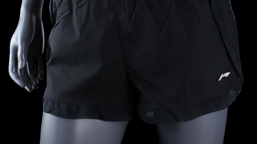 Running_Li-Ning_Track Shorts_Woman|AKSPO76-1