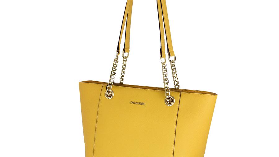 Calvin Klein bolsa de   amarilla
