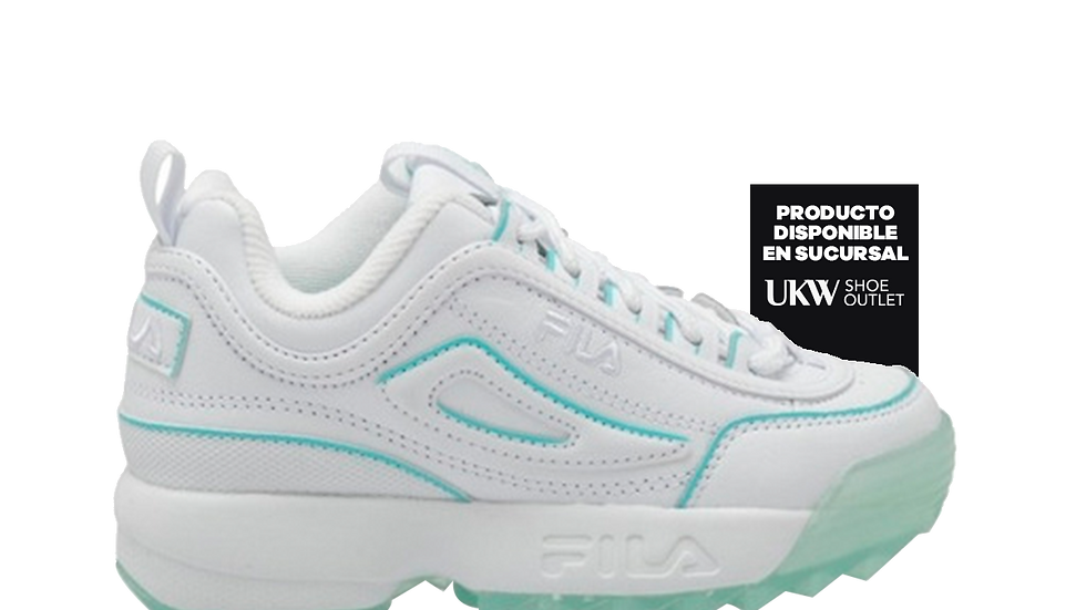FILA Disruptor II Ice Pack White
