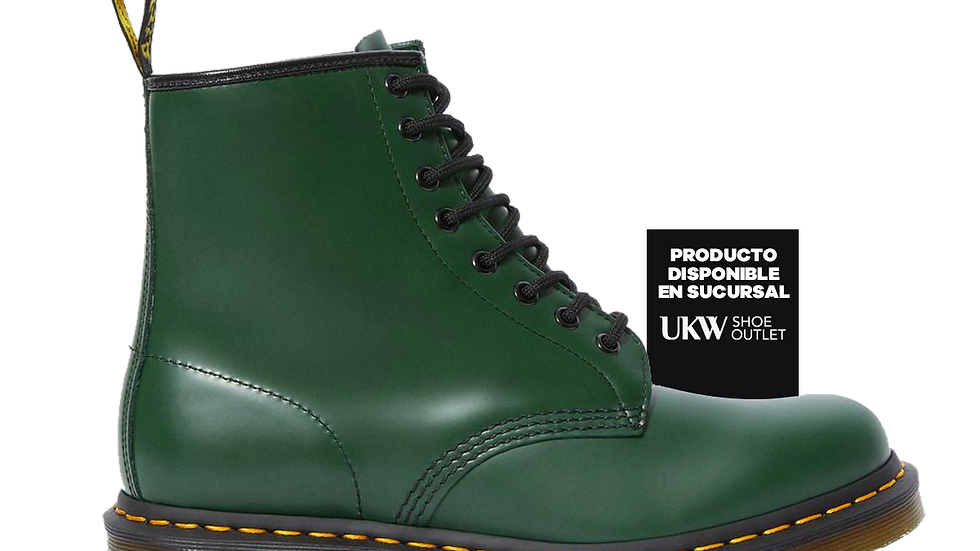 DR. MARTENS 1460 Green Smooth