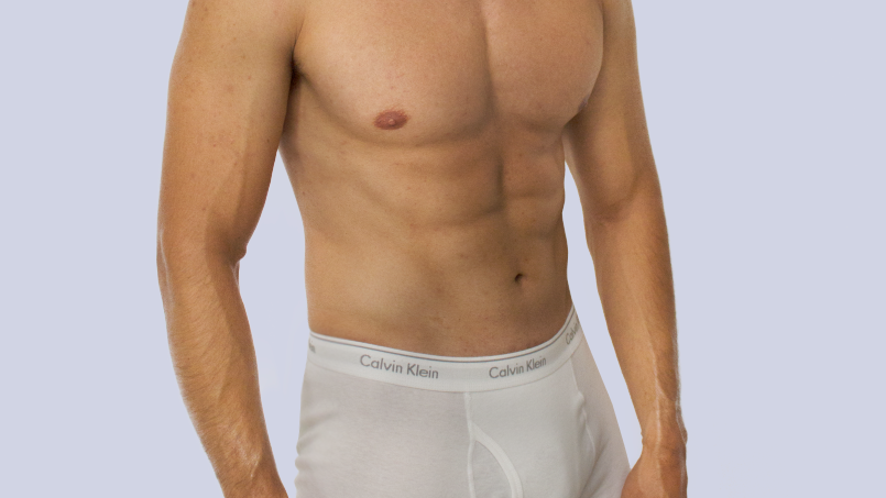 Calvin Klein Men. 3 Pack Trunks Blancos de 100% algodón.