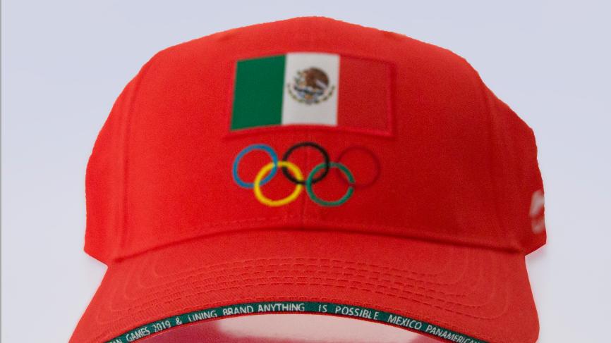 Li-ning Gorra OLYMPICS roja