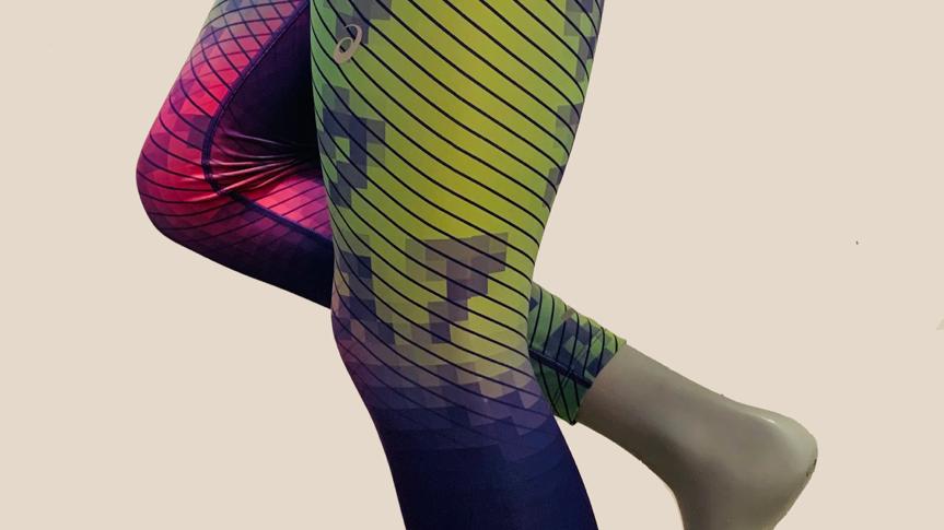 Asics, leggins colores, women. 2012A821.500