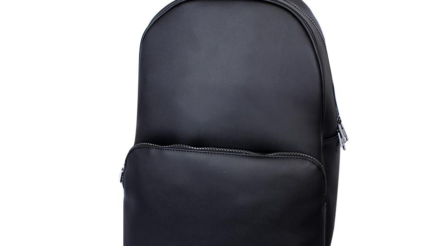 Calvin Klein Mochila negra lisa