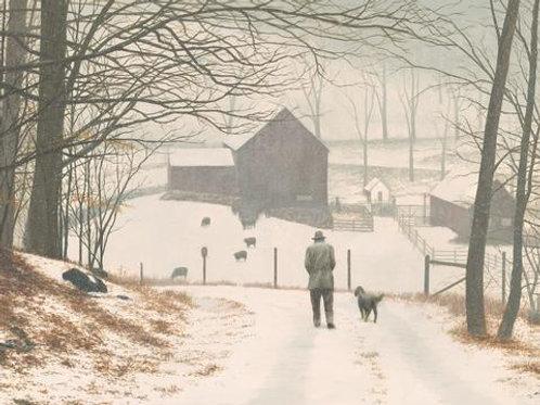 Forrest Rodts, Winter Walk