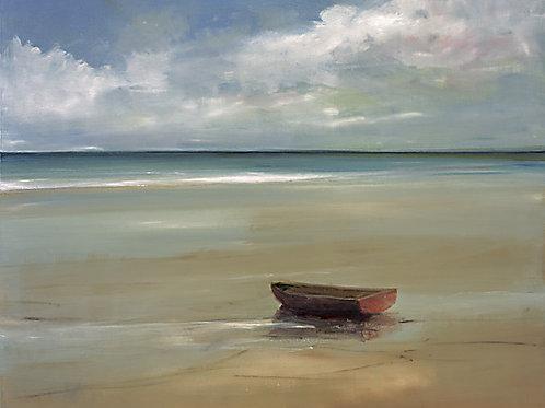 Anne Packard, On the Beach