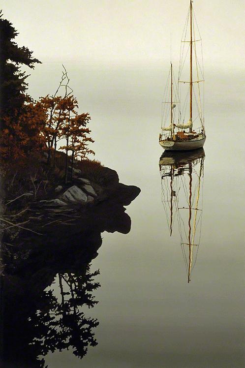 """Sabol, """"Autumn Cove"""" 54x34"""""""