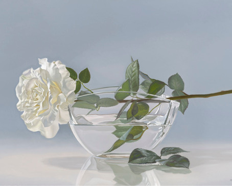 How to Capture Something Light Moves Through? The Photorealistic Still Lifes of Mark Brown